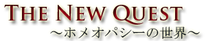 The New Quest~ホメオパシーの世界~