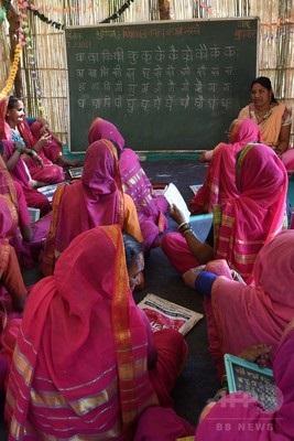20170504『「おばあちゃん」たちの読み書き学校、インド』2
