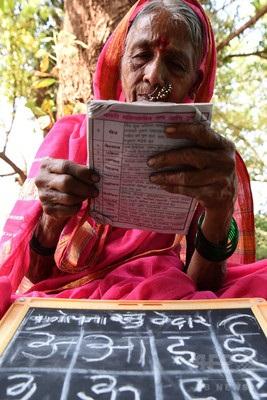 20170504『「おばあちゃん」たちの読み書き学校、インド』1