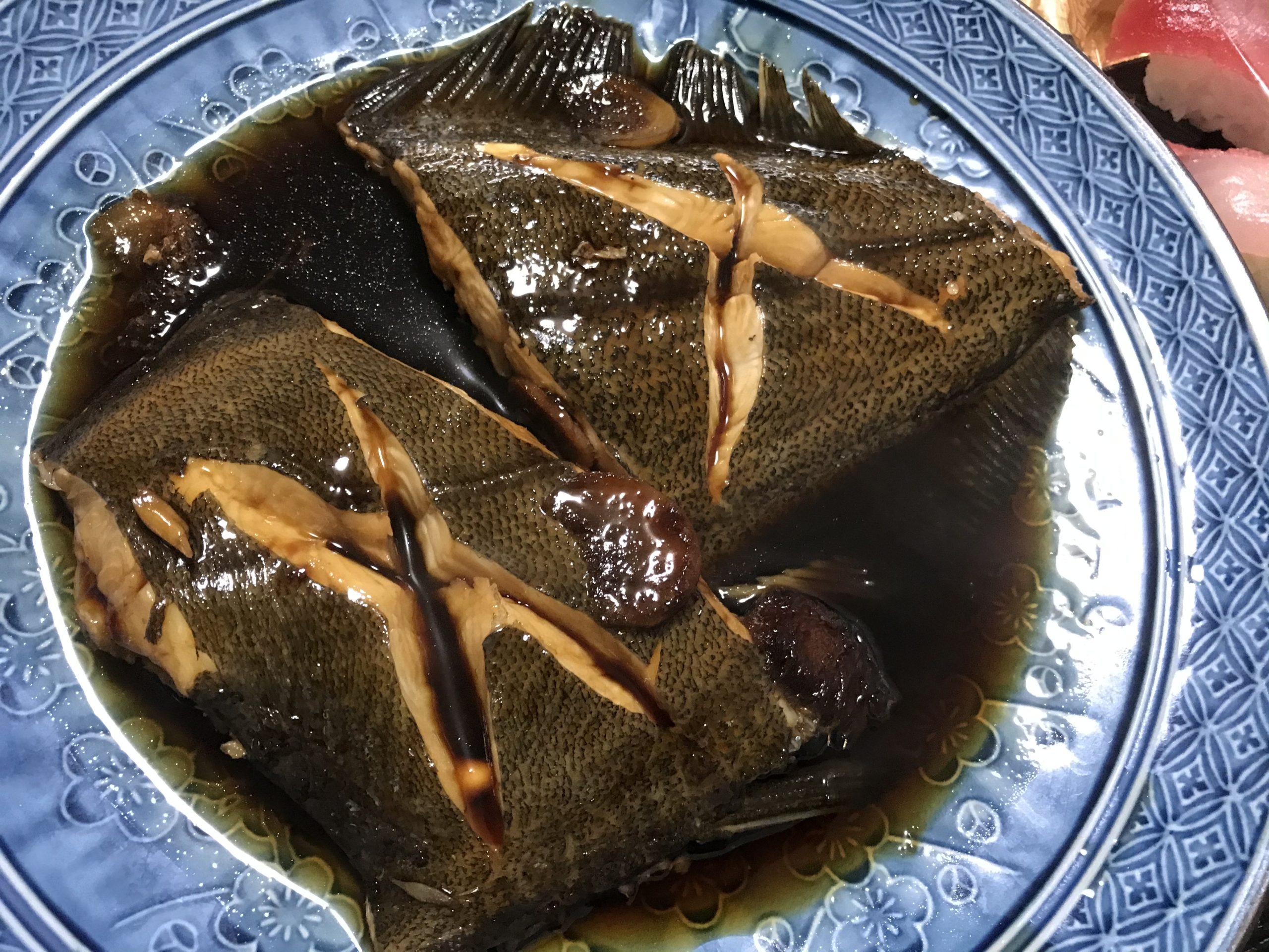 20201107魚の煮つけ