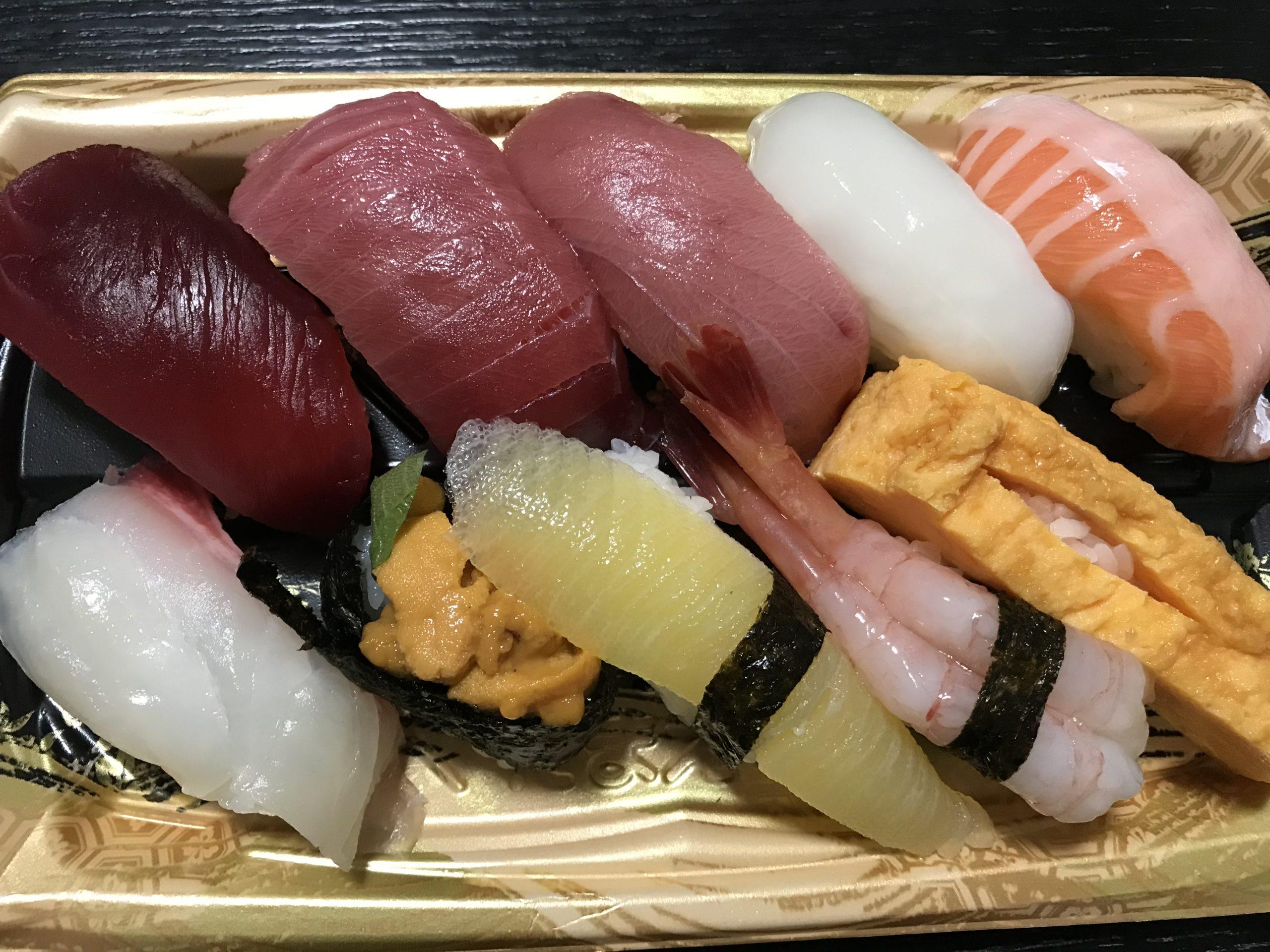 20210124エッグマートのお寿司